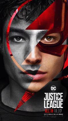 DC Comics Upcoming Movie Justice League Ezra Miller as The Flash Justice League 2017, Watch Justice League, Justice League Characters, Dc Characters, Dc Movies, Comic Movies, Univers Dc, Ezra Miller, Detective Comics