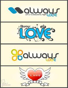 Always Love logos by saltshaker911 on DeviantArt