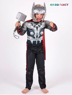aac2ee7a34c7 Boys Thor costume. Your little guy will be the best dressed at his next  costume