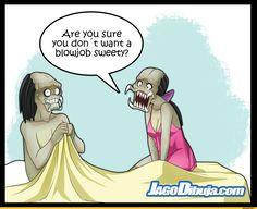 Don't do this with female Predator.(JaGo comics).