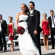 Visit www.gabbyfloral.com for more information. Wedding Arrangements, One Shoulder Wedding Dress, Wedding Dresses, Floral, Fashion, Bride Dresses, Moda, Bridal Wedding Dresses, Fashion Styles