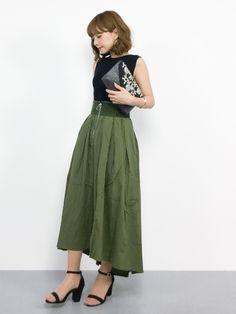 きれいめカジュアルスタイル ;) 只今セール中なので、是非チェックしてみて下さいね☆ ●スカート