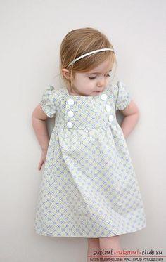 сделать простую выкройку платья для девочки своими руками. Фото №6