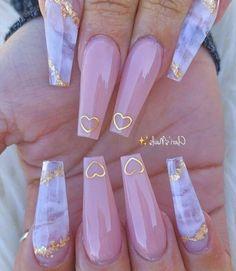 Purple Acrylic Nails, Acrylic Nails Coffin Short, Best Acrylic Nails, Pink Nails, Chevron Nails, Coffin Nails Ombre, Acrylic Nail Art, Lilac Nails With Glitter, Ballerina Acrylic Nails