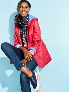 Talbots - Shoreline Raincoat | | Misses Discover your new look at Talbots. Shop our Shoreline Raincoat for stylish clothing and accessories with a modern twist at Talbots