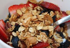 Ellie Krieger's Nutty Granola - Aggie's Kitchen
