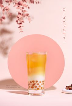 Stock photo of Milk bubble tea. Food Poster Design, Menu Design, Food Design, Rose Milk Tea, Bubble Milk Tea, Cocktails, Tea Brands, Advertising Photography, Commercial Photography