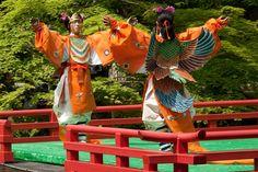 奈良の春日大社 萬葉雅楽会
