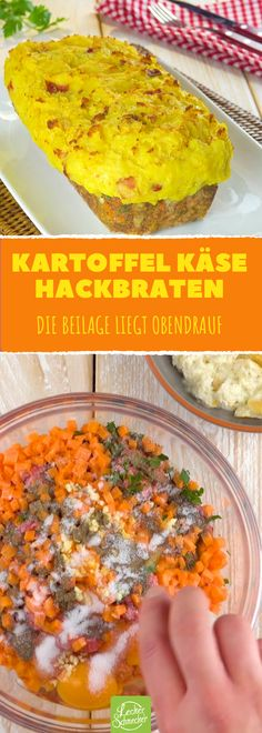 Dieser pralle Hackbraten hat die Beilage schon eingebaut! Food Plus, Food Categories, Ground Beef, Pork, Yummy Food, Meals, Dinner, Vegetables, Ethnic Recipes