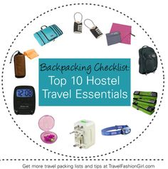 Whether you're a hosteling newbie or a seasoned traveler, TFG offers you a quick backpacking checklist to make sure you're always prepared for a hostel stay.