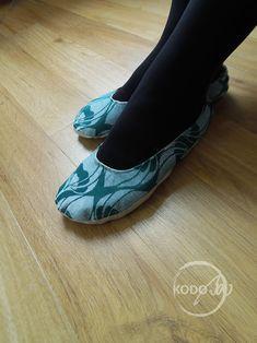 |aro La vita wrap scrap home slippers made by KodoBa #Yaro #lavita #KodoBa #wrapscrap