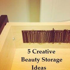 5 Creative Beauty Storage Ideas