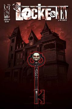 Locke & Key by Joe Hill, son of Stephen King. Following the murder of their father, a family relocates to an estate in Massachusetts where they find a mysterious door that separates one's spirit from their body. Start with Locke & Key Vol. 1: Welcome to Lovecraft.