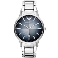 691cc0ad2b Classic Blue Textured Dial Men's Watch Alta Moda, Reloj De Acero  Inoxidable, Relojes De
