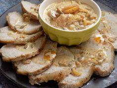Rôti de porc abricots/romarin
