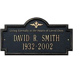 Arlington Living Eternally Standard Lawn Plaque Color BlackGold Letters ** Check out the image by visiting the link.
