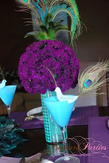 Peacock Birthday Party | Creating Couture Parties :: Ideas & Inspiration for the Party Planner in all of Us!