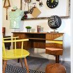Office Office Desk, Interior Design, Room, Furniture, Home Decor, Design Interiors, Homemade Home Decor, Desk, Home Interior Design