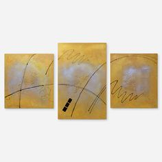 Beach - painting in the style of abstract art.  The work consists of three parts (triptych), made with acrylic paints on a canvas on a stretcher.  Size: 80 * 70 cm, 110 * 70 cm, 80 * 70 cm; depth - 2 cm.
