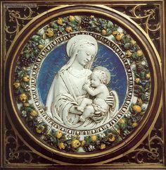 Luca della Robbia - Madonna col Bambino