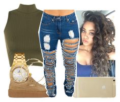"""Lonnie"" by aribearie ❤ liked on Polyvore featuring WearAll, Audemars Piguet, Puma and Sonix"