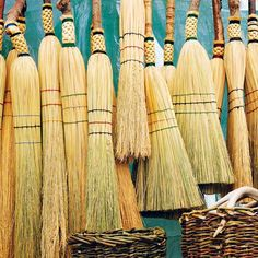 Learn the nearly lost American art of broom-making.