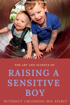 Raising a sensitive boy in a culture that does not value boys' emotions can be challenging. However, with careful observation and care, your sensitive boy can learn to flourish. Mindful Parenting, Gentle Parenting, Parenting Hacks, Social Emotional Development, Toddler Development, Practical Parenting, Raising Boys, Kids Health, Toddler Preschool