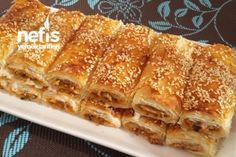 Chaumas of Saint-Jacques with ginger - Healthy Food Mom Pastry Recipes, Gourmet Recipes, Healthy Recipes, Eid Recipes, Borek Recipe, Turkish Recipes, Ethnic Recipes, Eid Food, Iftar