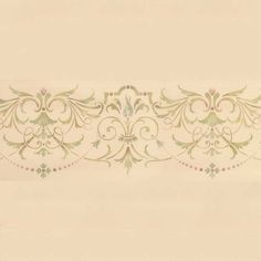 Ceiling Stencils | Hampton Frieze Ceiling Stencil | Royal Design Studio 34 x 9 $31