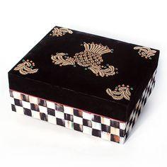 Highbanks Large Decorative Box - Black