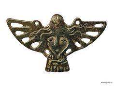 Permian animal style pendant. Permian bronze casts were produced by the Komi and Udmurt people between the 4th and the 14th centuries. Their size is 3–17 cm.