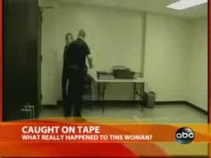 Cop caught on Tape: Police Beat a Woman almost to Death - YouTube ~ The miracle? He was actually fired!