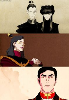 Zuko and Mai's family, it actually never says what happened to Mai in the legend of Korra Avatar Aang, Team Avatar, The Last Avatar, Avatar The Last Airbender Art, Tai Lee, Mai And Zuko, Legend Of Aang, Iroh Ii, The Last Airbender
