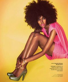 "Julia Sarr-Jamois featured in editorial spread, ""Power To The People"""