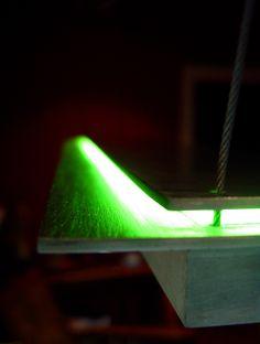 Midori Suspension art lighting by LightlinkLighting. #LightlinkLighting #Houzz