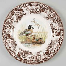 View Item: Spode WOODLAND Blue Wing Teal Duck Dinner Plate 8358401
