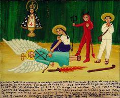 Мой сын Хосе играл ангела на школьном спектакле, и у него оборвалась веревка. Он упал и так сильно ударился головой, что потерял сознание, а когда очнулся, то решил, что он и в самом деле ангел. Я молилась Деве Сапопанской, чтобы разум вернулся к моему сыну. Спустя три дня Пресвятая Дева сотворила чудо, и к Хосе вернулась память. Благодарю Деву, так как поведение сына, пока он считал себя ангелом, было очень опасным: он все время пытался улететь с крыши.