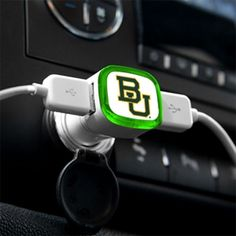 #Baylor Bears USB Car Charger