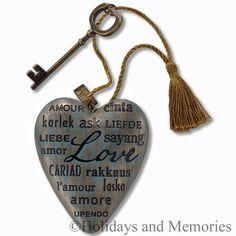 Love Languages Art Heart Sculputre by DEMDACO 1003480003