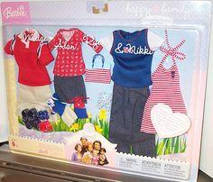 Barbie Doll House, Barbie Life, Barbie Dolls, Barbie Outfits, Barbie Clothes, Barbie Happy Family, Barbie Collection, Barbie Friends, Classic Toys