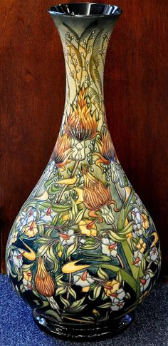 Moorcroft Pottery Prairie Summer 80/20 Rachel Bishop  http://www.bwthornton.co.uk/moorcroft.php