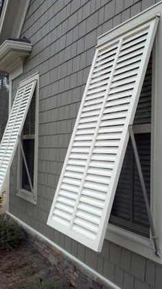 Louvered exterior shutters are the most popular exterior window shutters in the US. We offer louvered exterior shutters in both operational & decorative formats