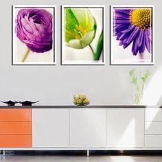 Kwiat pamięci Oprawiona reprodukcja Zestaw 3 – EUR € 67.04