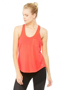 Extreme Racer Tank   Women's Tops at ALO Yoga
