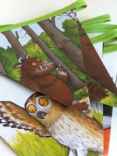 What Gruffalo party would be complete without Gruffalo bunting! http://www.forestry.gov.uk/gruffalo