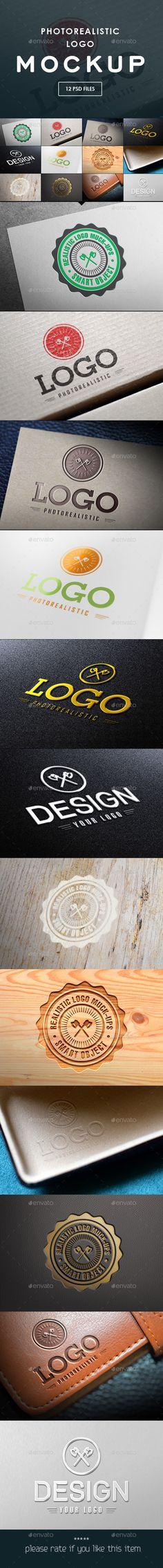 Logo Mock-Ups  — PSD Template #ogo mock-up #logo mockup • Download ➝ https://graphicriver.net/item/logo-mockups/17727803?ref=pxcr