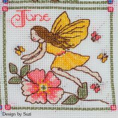 Lesley Teare - Birthday Fairies (Calendar 2015) - June