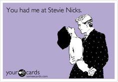 love stevie nicks...reminds me of my friend karen