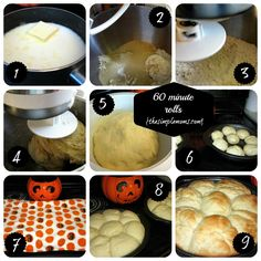 60 minute rolls - super fast and really good
