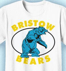 School Spirit Shirts. Custom School Spirit T-Shirts: Click 104 Shirt Designs to Boost Spirit - www.izadesign.com for more school spirit t-shirt design ideas